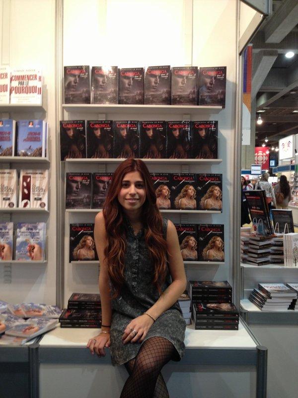 auteure Francesca Lo Dico au salon du livre de Montréal 20-25 novembre 2013