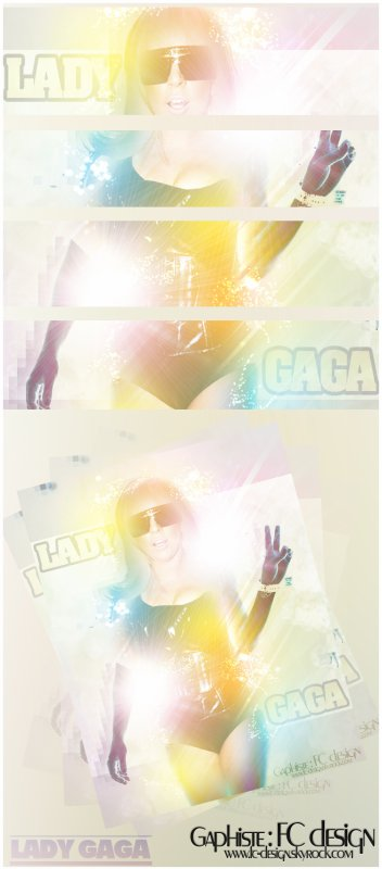 Lady Gaga By FC design