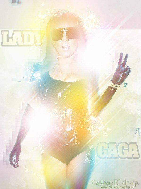 Lady Gaga By FC design