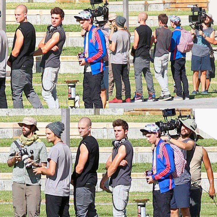 06.09.14                                  Zac tournage WAYF !!!!!!!