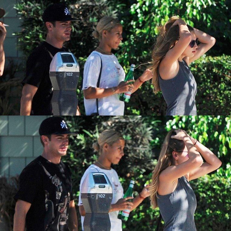 15.09.14                   Zac de sortie avec des amis dans Los Angeles !!!!