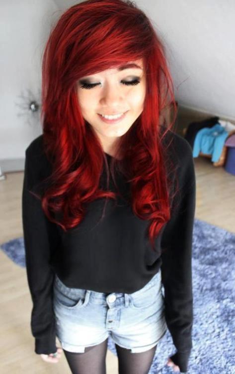 Ses cheveux OMG je rêve éveillée *__*