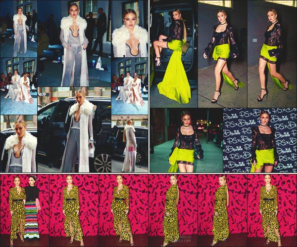 '- '-◊-11/02/19-' : Notre belle blonde Delilah Belle était aux défilés de la « Fashion Week », organisé à New York ! Delilah Belle a donc participé au défilé « Phillip Lim » ainsi qu'au lancement de « P.S. x Danielle » puis « Alice + Olivia ».  // Un top pour Delilah Belle H. !-