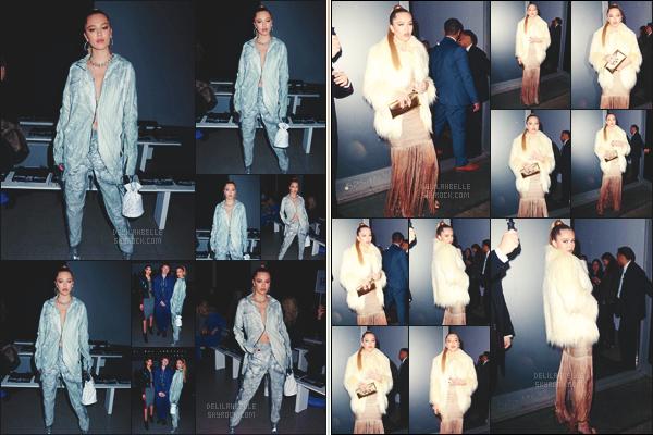 '- '-◊-12/02/19-' : Notre belle blonde Delilah Belle était aux défilés de la « Fashion Week », organisé à New York ! Delilah Belle a opté pour deux tenues bien différentes pour le défilé « John John » ainsi que pour la fête de « Stuart Weitzman ».  // Bof pour miss Belle !-