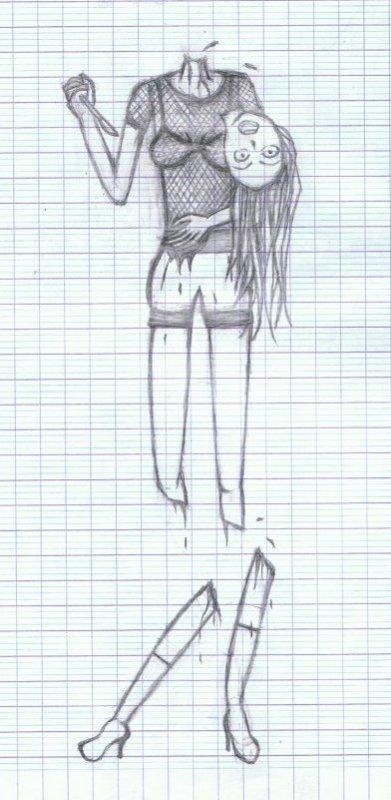Un dessin à en perdre la tête ;)