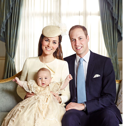 Prince William & Kate Middleton et leur fils George
