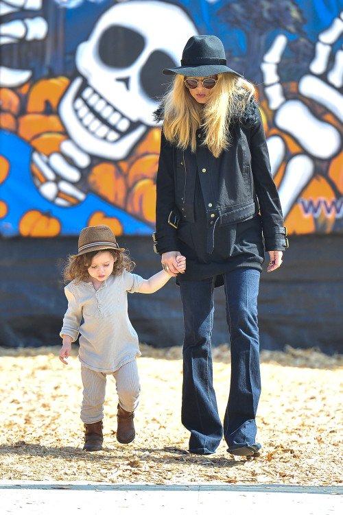 Rachel Zoe & son fils