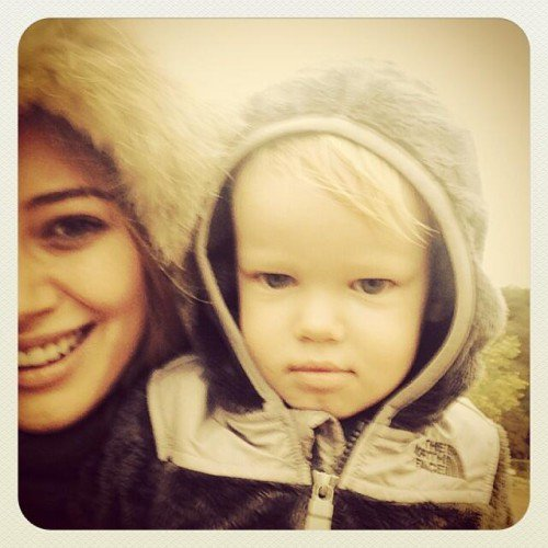 Hilary Duff & Son Fils Luca