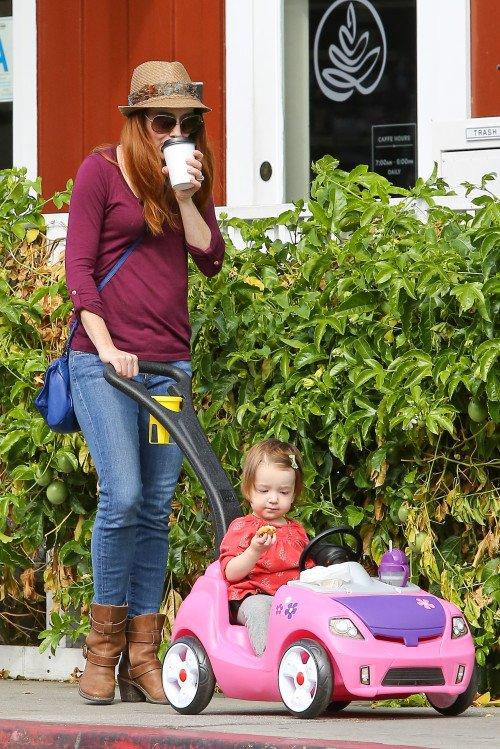 Alyson Hannigan & sa fille Keeva