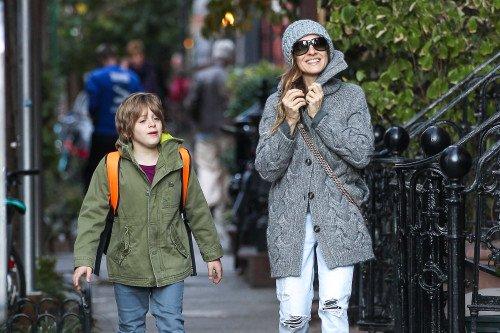Sarah Jessica Parker et ses enfant