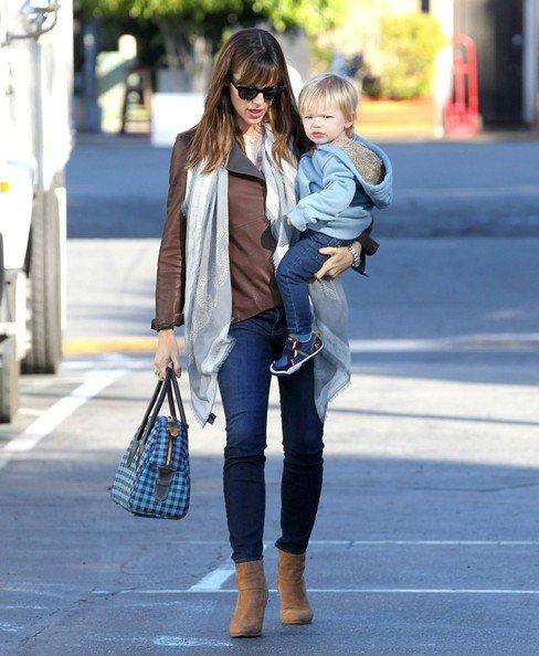 Jennifer Garner et son fils