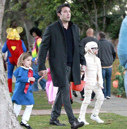 Ben Affleck & Jennifer Garner et leur 3 enfant