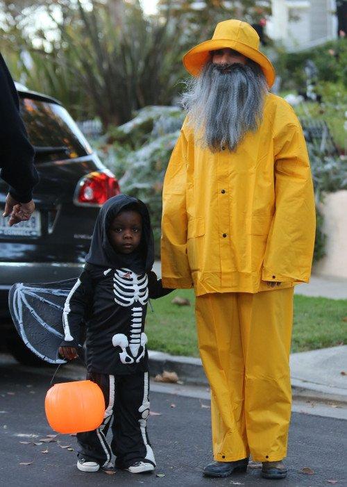 Sandra Bullock et son fils