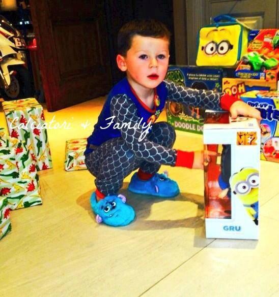 kai ronney et ses cadeaux d'anniversaire
