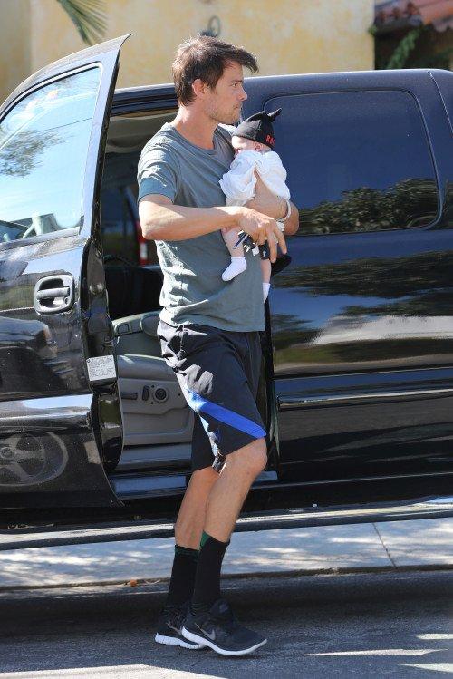 Josh Duhamel et son fils