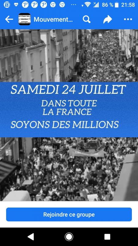 Des rassemblements dans toute la France 🇫🇷