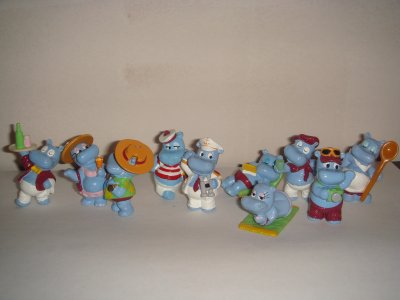 La bande des Hippos en vacances