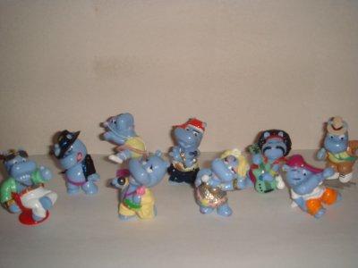 Le casting des happy hippo