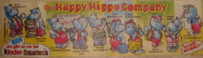 Les happy hippos compagny BPZ