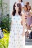 Selena se rendant à une fête privée le 11 aout 2014.