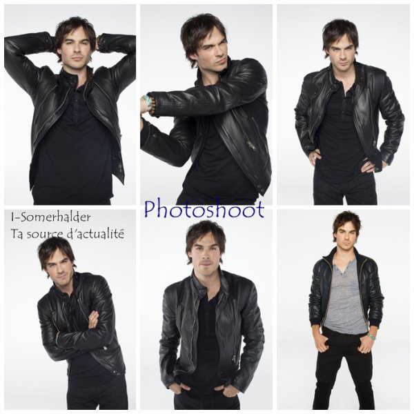.........................................................................................................................................Nouveau Photoshoot de Ian Somerhalder   .........................................................................................................................................
