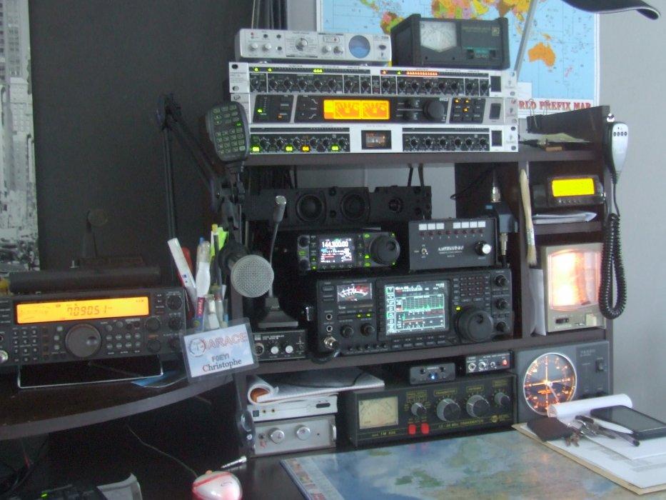 radioamateur F0EYI op christophe