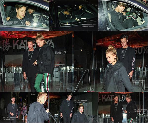 .  24/04/17 ― Cameron a été aperçu avec Hailey B. sortant du restaurant Katsuya dans West Hollywood!.Je donne un bof, je suis pas fan de la tenue du jeune viner. Encore une sortie pour Cam et Hailey! Pensez-vous qu'ils soient ensemble?.