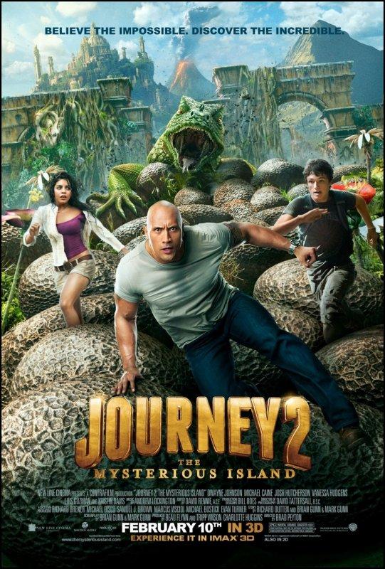ᅠ Promo du nouveau film de Vanessa Hudgens Journey 2 : The Mysterious Island + Poster ᅠ
