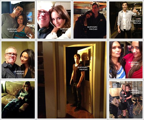 ᅠ Photos provenant de twitter : Pretty Little Liars saison 3 IT IS NOW !!!  ᅠ