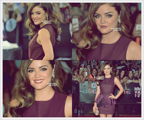 ᅠ 17 Juin 2012 : Lucy Hale lors de la cérémonie des MuchMusic Video Awards 2012 ᅠ