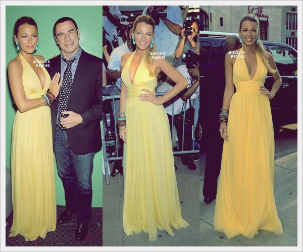 ᅠ 27 Juin 2012 : Blake Lively à l'avant première de son nouveau film Savages à New York  ᅠ