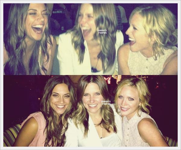ᅠ 09 Juillet 2012 : Sophia Bush a fêté son anniversaire avec ses amies Jana Kramer et Brittany Snow ᅠ