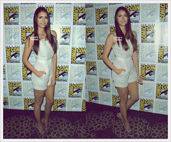 ᅠ 14 Juillet 2012 : Nina Dobrev et Paul Wesley lors de la Comic-Con International à San Diego ᅠ