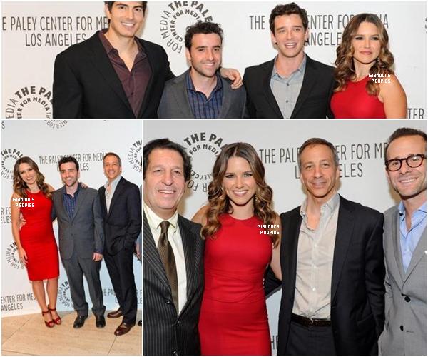 ᅠ 06 Septembre 2012 : Sophia Bush au Paley Center Panel avec le cast de sa série  Partners ᅠ