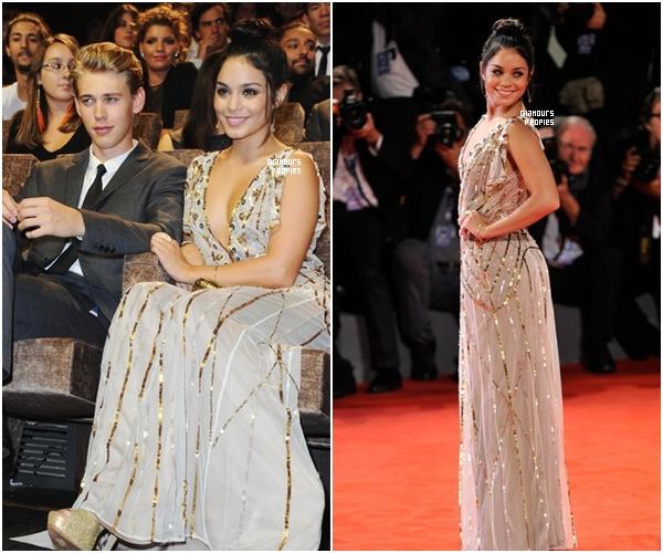ᅠ 05 Septembre 2012 : Vanessa H. , Selena G. et Ashley B. à l'avant première du film Spring Breakers à Venise ᅠ