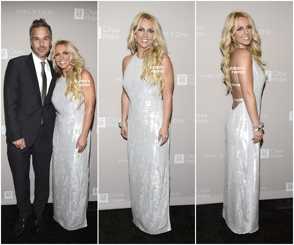 ᅠ 10 Octobre 2012 : Britney Spears et son fiancé Jason Trawick au gala de charité City OF Hope ᅠ