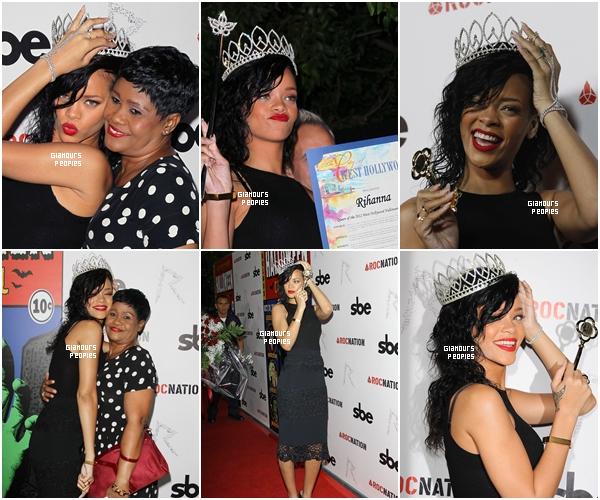 ᅠ 31 Octobre 2012 : Robyn Rihanna Fenty s'est rendu au Greystone Manor pour fêter Halloween avec sa mère ᅠ