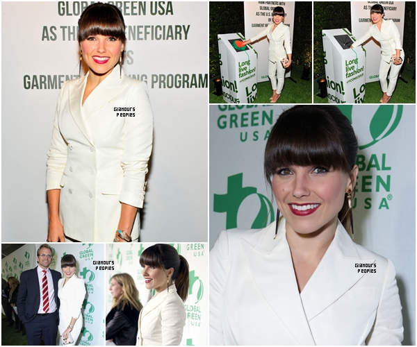 ᅠ 20 Février 2013 : Sophia Bush à la soirée Global Green USA's 10th anniversary Pre-oscar Party  ᅠ