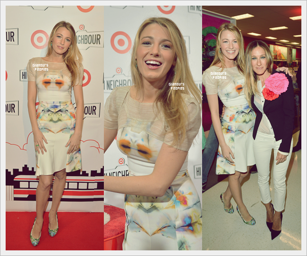 ᅠ 27 Mars 2013 : Blake Lively à l'ouverture du magasin Target au Canada ᅠ
