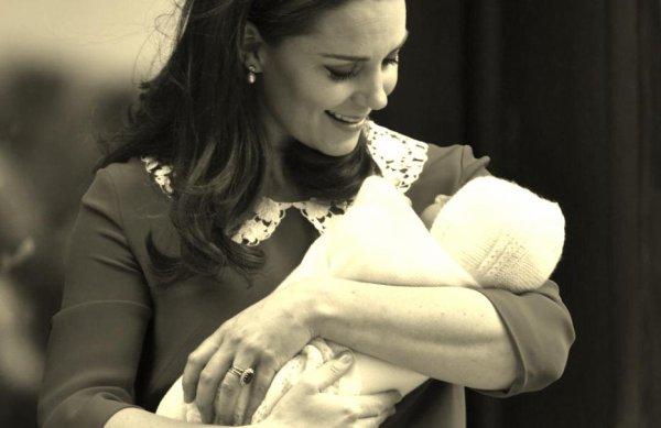 Kate Middleton a donné naissance à un petit garçon