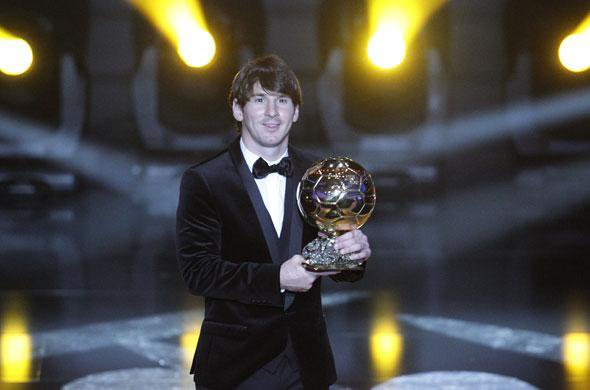 Messi , ballon d'or 2010