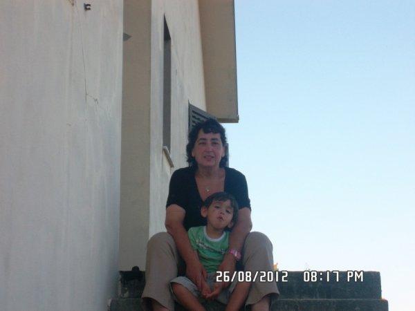 mon baby love et moi en vacances au portugal en août 2012