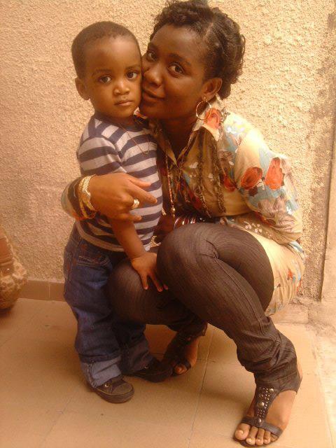 Bébé Josué et sa mère