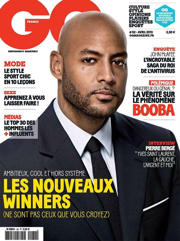 Telecharge GQ N°62 Avril 2013 (France) Gratuitement Avec En couverture Booba