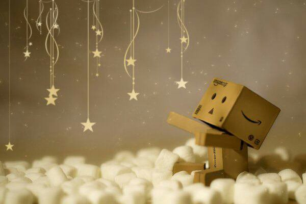 Petit bonhomme en carton!!!!:)