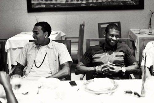 Chris&Usher.