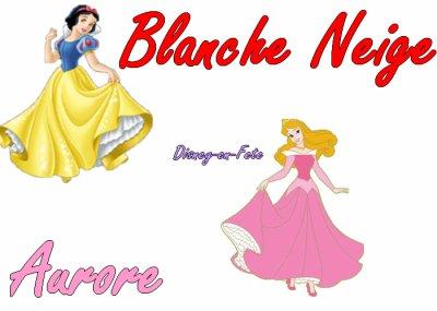 ∂ιѕηєу - єη - ƒєтє vous présente : >> le VS n°3. Plustôt Blanche Neige ou Aurore ?