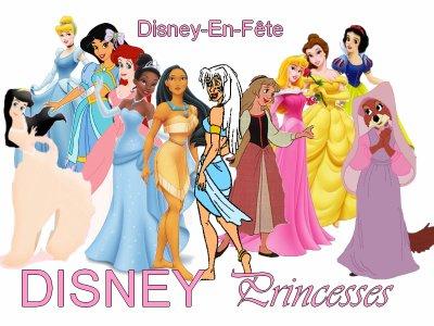 ∂ιѕηєу - єη - ƒєтє vous présente : >> Disney Princesses