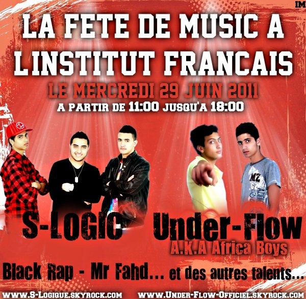 Under-Flow sur scène le 29/06/2011