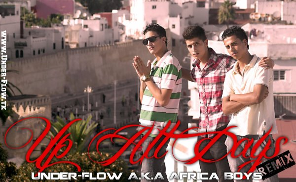 For The Music / Under-Flow A.K.A Africa Boys (Up All Days)  (2011)
